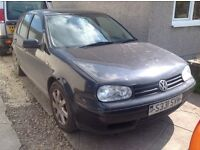 VW Golf GTI for spares or repair