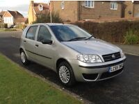 Fiat Punto 1.2..5dr..1 Full years MOT with no advisories..2006..Only 66,400miles