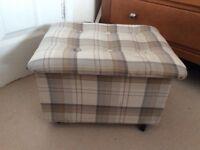 Small storage stool