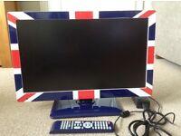 "22"" Television - Union Jack frame"