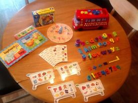 Pre-school/early years learning bundle of educational toys and games