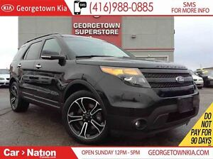 2014 Ford Explorer SPORT | NAVI | PANO ROOF | LEATHER | BACK UP