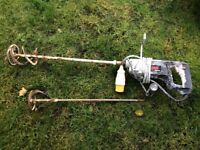 Skil cement mixer .. power tool with 110 v