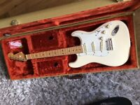 Fender Stratocaster with tweed case for sale
