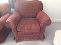 Peter Guild Sofa and Armchair