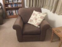 2no Two Seater Sofa, Free Chair Smoke/Pet Free Collection Only. £70 each £120 Set