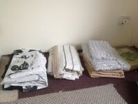 Assortment of bed linen
