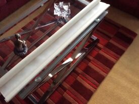 Cream window roller blind