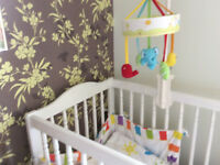 Baby Cot Musical Mobile