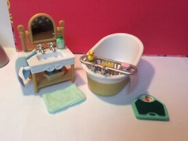 Sylvanian bathroom set