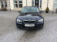 Navy blue BMW 318d very clean car drives well