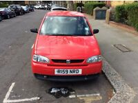 SEAT AROSA AUTOMATIC 1.4, MOT FEB '18, GREAT CONDITION, VERY LOW MILEAGE 48000, 1997, PRICED TO SELL
