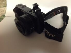 Sony ILCE-6000 Camera with 16-50 lens