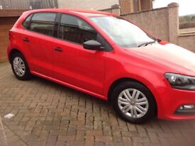 Valkswagen polo s red Lady owner excellent condition 10 month tax serviced at 18000miles