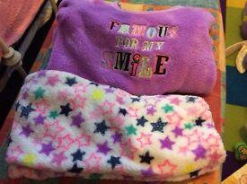 Girls fleecy pajamas age 4-5