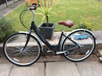 Claud butler ladies hybrid bike