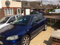 Vauxhall Astra 1.6 2003. Mot March 2017. New clutch new CAMBELT