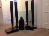 LG 6 SPEAKER CINEMA SURROUND SOUND SYSTEM
