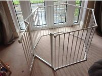Playpen - Baby Dan Playpen or fireguard with mat. In good clean condition from smoke free home.