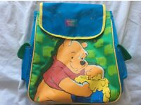 Child's small Winnie the Pooh rucksack