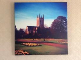 Canvas print wall picture..