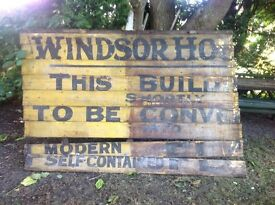Old signage pre 1970s