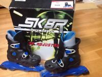 Adjustable inline skates size 11-1