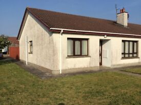 3 Bedroom semi detached bungalow Portstewart