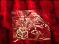 Crystal, diamanté bridal, party hair comb
