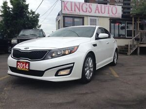 2014 Kia Optima EX, BACK-UP CAM, LEATHER, TRACTION