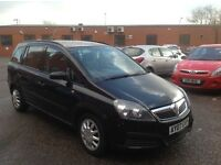 2007 Vauxhall Zafira Diesel Good Runner with history and long mot