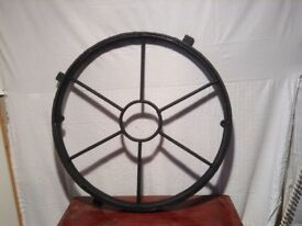 Round cast iron window 3ft diameter pay on collection