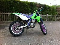 Klx 250 crosser enduro car quad pitbike swap