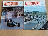 Two Vintage Autosport Magazines