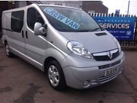 2010 VAUXHALL VIVARO CREWCAB SPORTIVE STUNNING CONDITION *LOW MILES* SERVICE HISTORY NEW INJECTORS!!