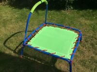 ELC junior child trampoline for indoors or outdoors very good condition