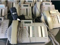 18 Multi Line Norstar BT Telephones + 2 Cordless Phones