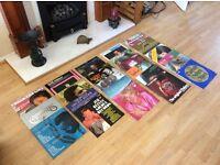 Classic Vinyl LP record collection