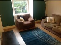 1-bedroom 1st floor flat for rent in Dalry, central Edinburgh - fully furnished, modern decor