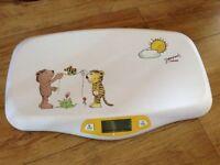 Janosch digital baby scale - Like new