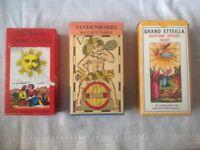 TAROT CARDS - 3 DIFFERENT PACKS