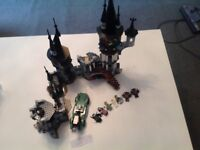 Large Lego vampire castle, inc 7'figures