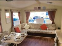 FAMILY STATIC CARAVAN FOR SALE AT SANDY BAY HOLIDAY PARK, NORTHUMBERLAND - PET FRIENDLY - SEA VIEWS