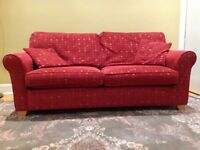 Sofabed and two armchairs