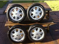 Price Slashed!! ALLOY WHEELS with TYRES FOR SALE - FORD 14 Inch
