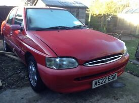 Ford Escort Ghia hatchback very low mileage