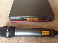 Sennheiser EW135 radio microphone set. EW100 transceiver E835 microphone