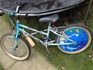 Small mountain bike suit 5 to 7 yrs good condition
