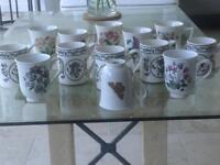 Portmeirion mugs Botanic garden