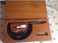 Starrett 3-4 micrometer